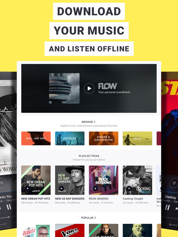 Deezer: Music Streaming, Songs, Albums & Artists Screenshot