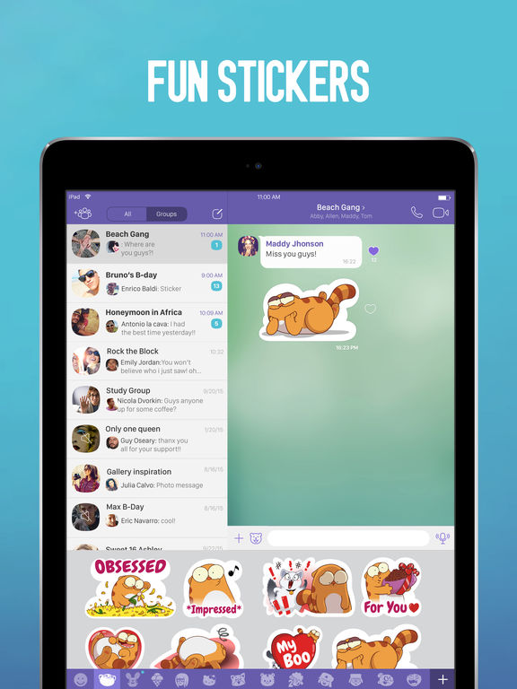 Viber Messenger – Text & Calls Screenshot
