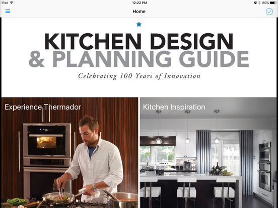 Thermador Kitchen Design Planning Guide App Store
