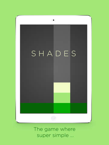 Shades: A Simple Puzzle Game iPad
