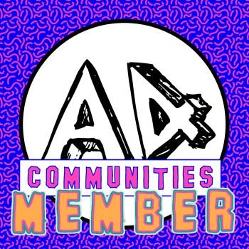 A4 communities member button
