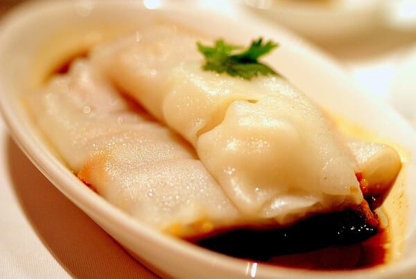 Four Treasure Rice Flour Roll (Cheong Fun)