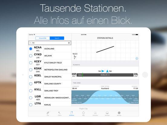 StationWeather+ Aviation Weather and Charts Free Screenshot