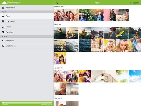 mobilcom-debitel cloud Screenshot