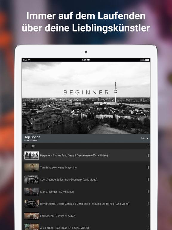 YouTube – Video, Clip & Musik ansehen und uploaden Screenshot