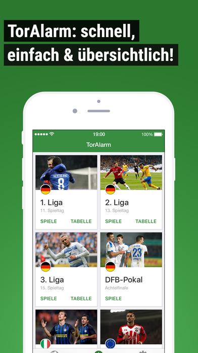 TorAlarm Fußball Bundesliga Live Werbefrei Screenshot