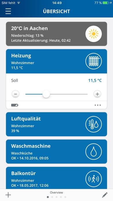 devolo Home Control Screenshot