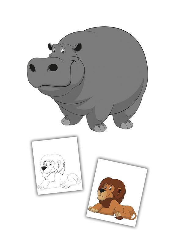 Lernspiel Fr Kinder Mit Malbuch Von Tieren Im App Store