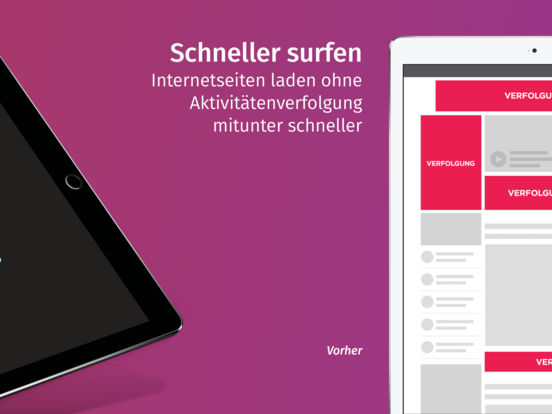 Firefox Klar: Der Browser mit Privatsphäre Screenshot
