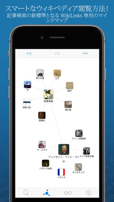 WikiLinks ‐ 高性能で素晴らしいウィキペディアリーダー Screenshot