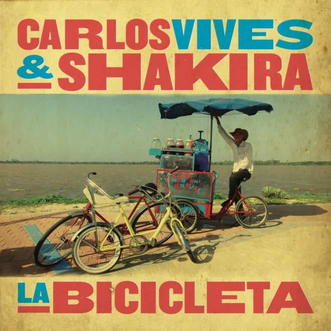 Carlos Vives & 夏奇拉 - La Bicicleta - Single
