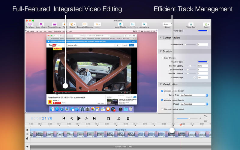 Screenium 3 for Mac 3.1.3 激活版 – 优秀的屏幕录像工具-麦氪派(WaitsUn.com   爱情守望者)