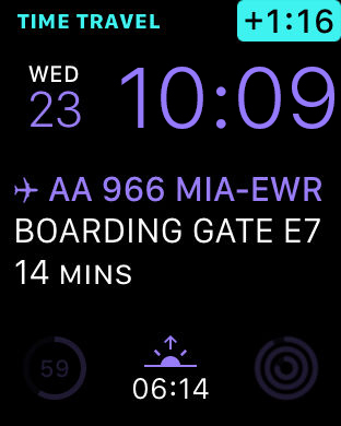 App in the Air - Personal travel assistant Screenshot
