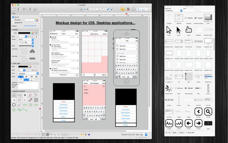 VisualDesigner Pro for Mac 4.4(102) 破解版 - 平面图设计