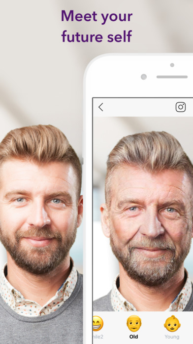 FaceApp: Neural Face Transformations Screenshot