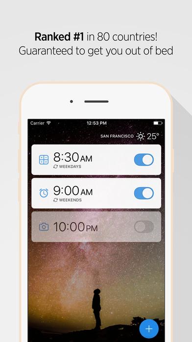 Alarmy (Sleep If U Can)- Alarm clock Screenshot