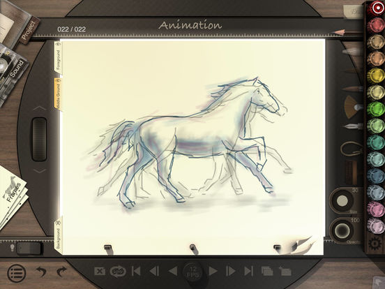 Animation Desk™ Classic iPad