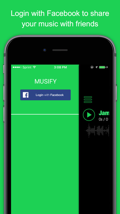 MUSIFY - Unlimited Free Music Streaming For Youtube Screenshot