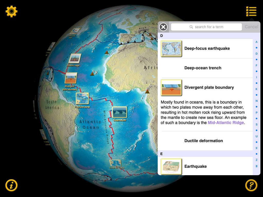 App Shopper Plate Tectonics Visual Glossary And Atlas Education