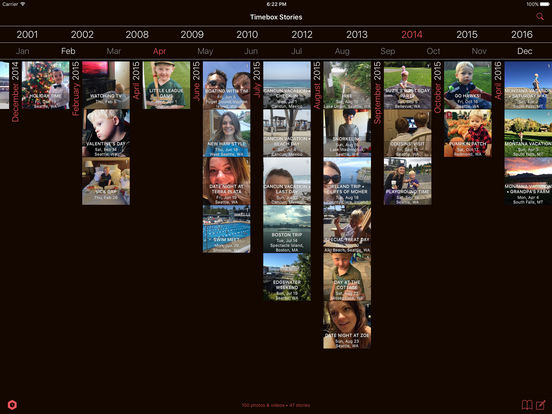 Timebox Photo Journal Screenshot