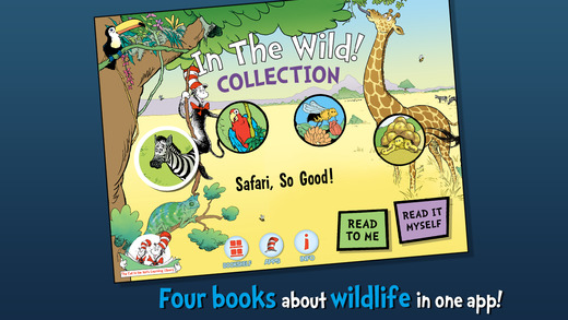 In The Wild! Cat in the Hat Learning Library Collection By Oceanhouse Media- Review + Giveaway