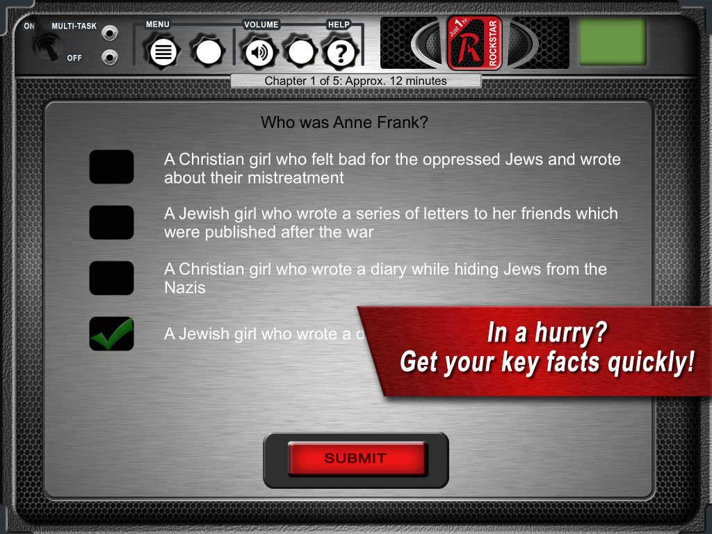 App Shopper Diary Of Anne Frank By Rockstar Education