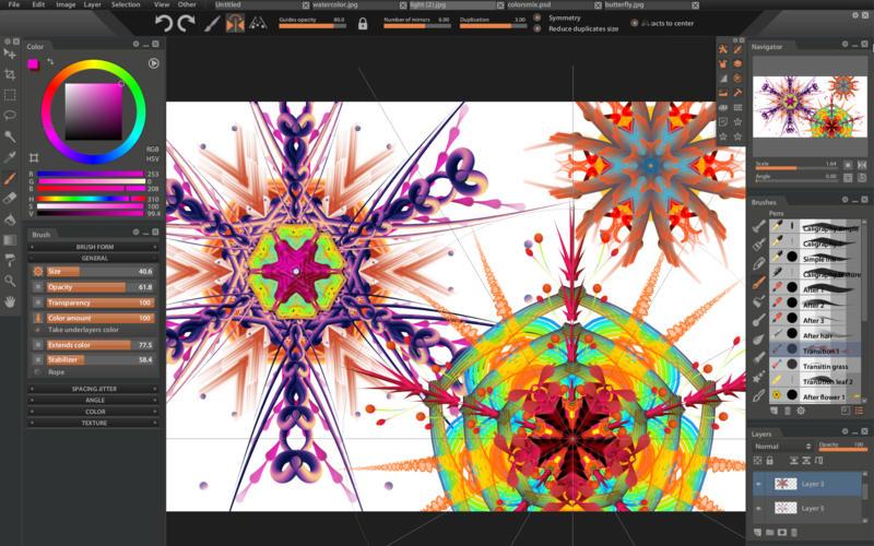 Paintstorm Studio Mac 破解版 数字油画创建工具