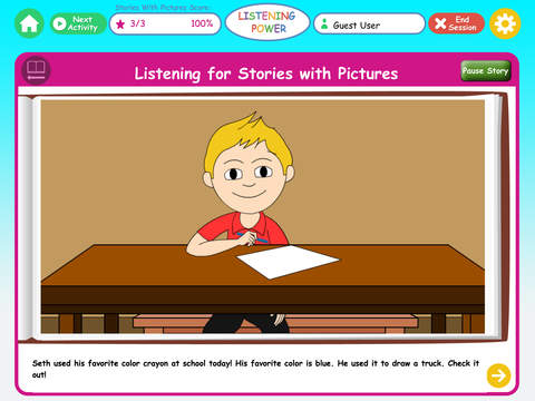 Listening Power Preschool by Hamaguchi Apps- Review + Giveaway
