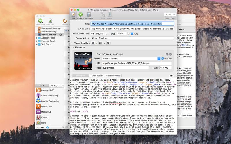 Feeder for Mac 3.4.4 破解版 - 创建和发布的RSS
