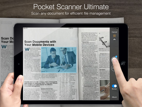 Pocket Scanner Ultimate - Scan Documents to PDFs Screenshot