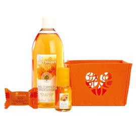 coffret miel d'oranger yves rocher