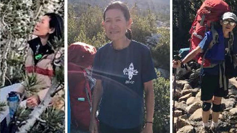Diane Salmon, 63, die im Kings Canyon Nationalpark wandern ging, war