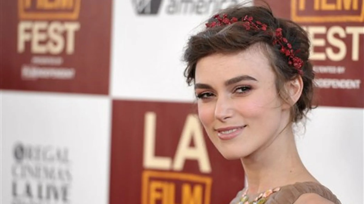 Actress Keira Knightley opened up about having a mental breakdown at 22.