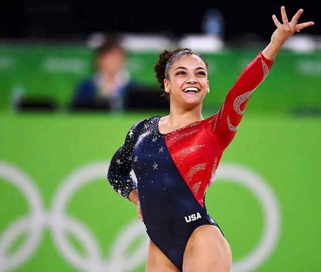 Laurie Hernandez At The 2016 Rio Olympics