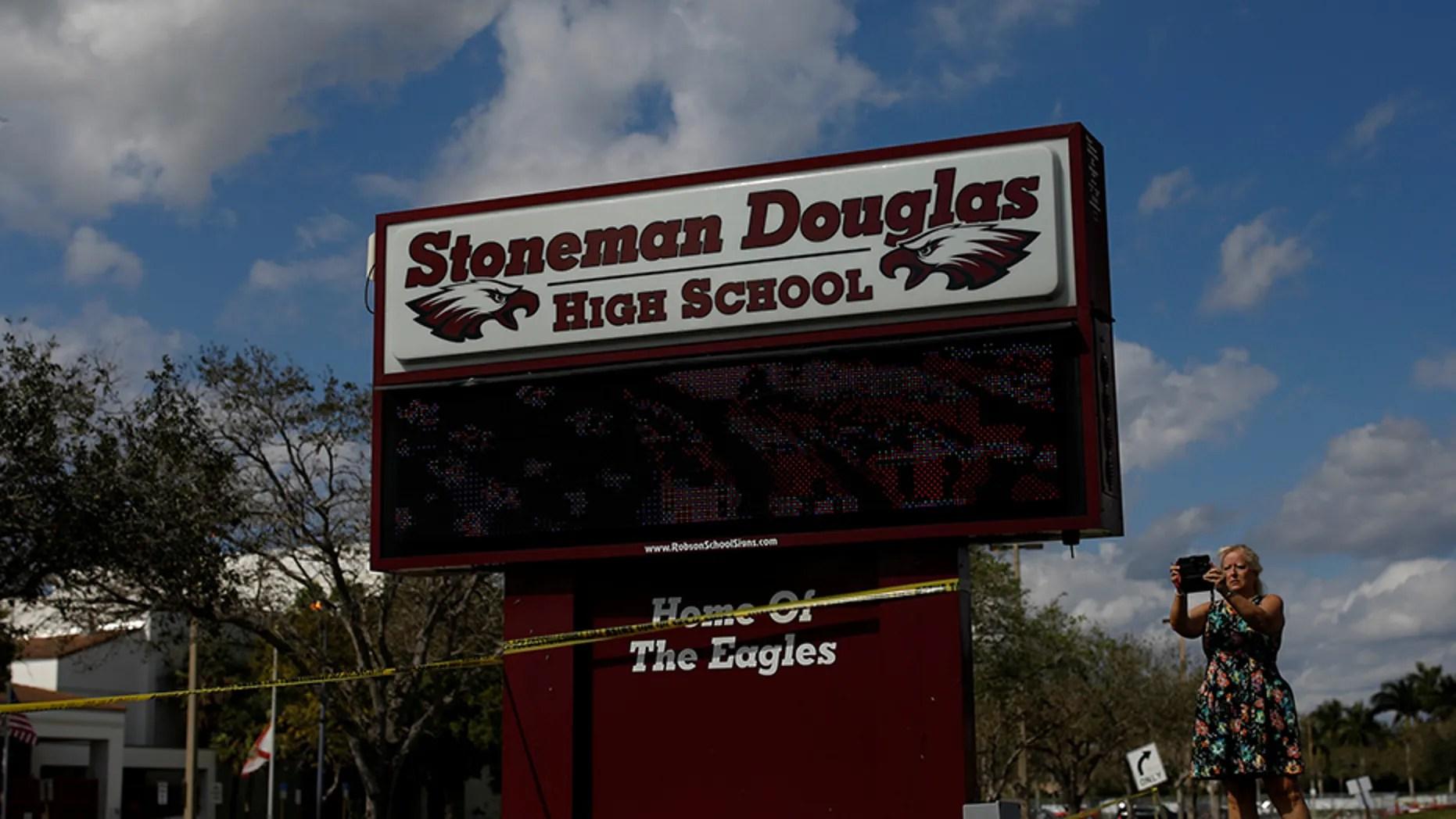 Marjory Stoneman Douglas High School in Parkland, Fla.