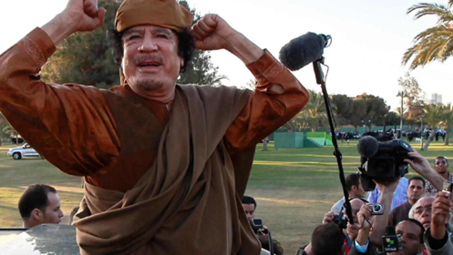 Report: Libyan Leader Moammar al-Qaddafi May Flee to ...