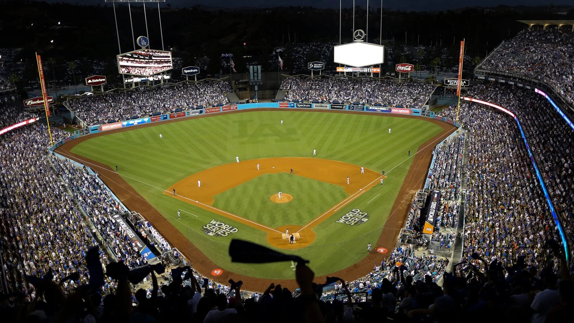 Jordan Benedict scored $9 tickets to game two of the World Series at Dodgers Stadium.