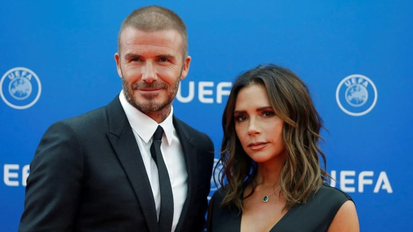 """David Beckham says his and Victoria Beckham's marriage is """"always hard work"""" in a new interview with """"The Sunday Project"""" via The Mirror, which published a preview clip."""