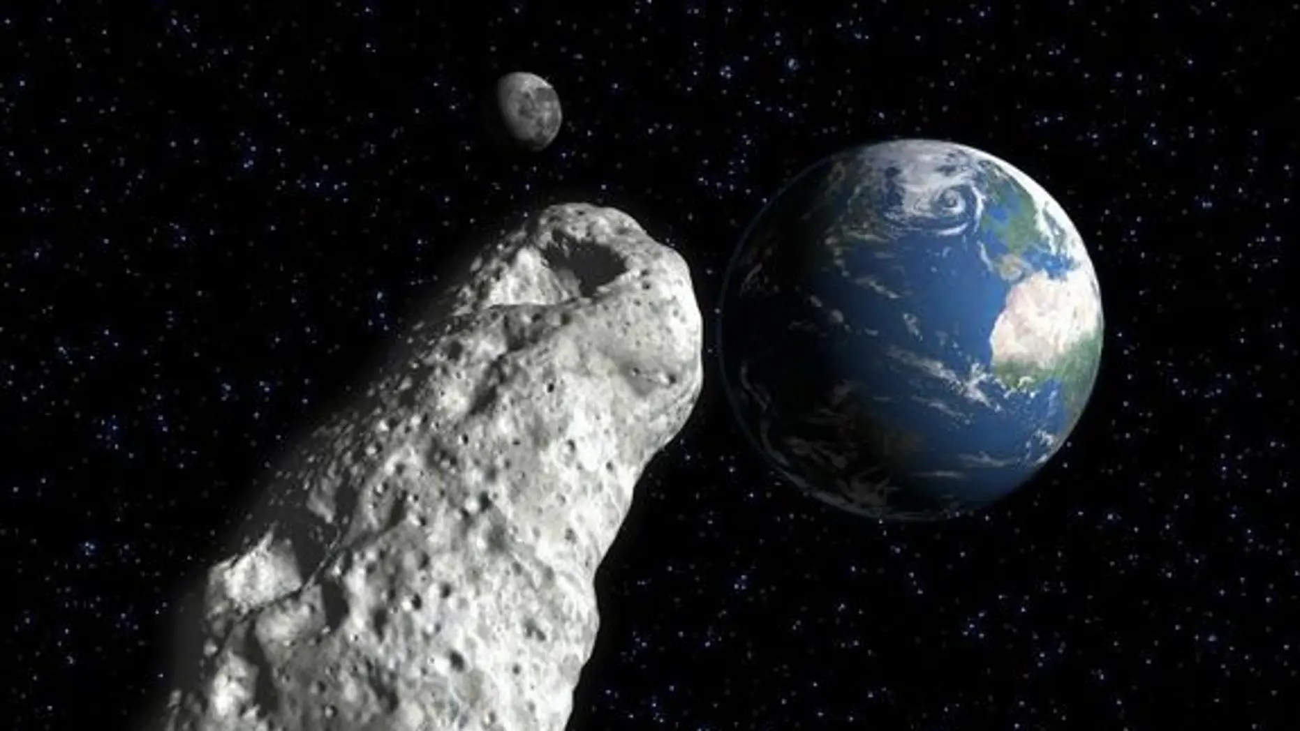 Asteroid the size of a football field makes surprise