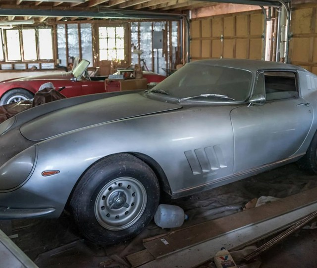 Garage Find Shelby Cobra And Ferrari Parked Since  Sold For Millions