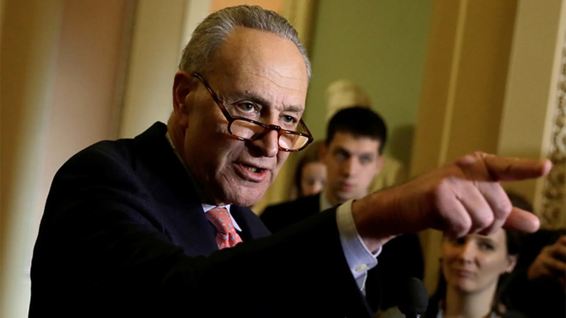 Eager to slam Trump, Schumer contradicts himself in ...