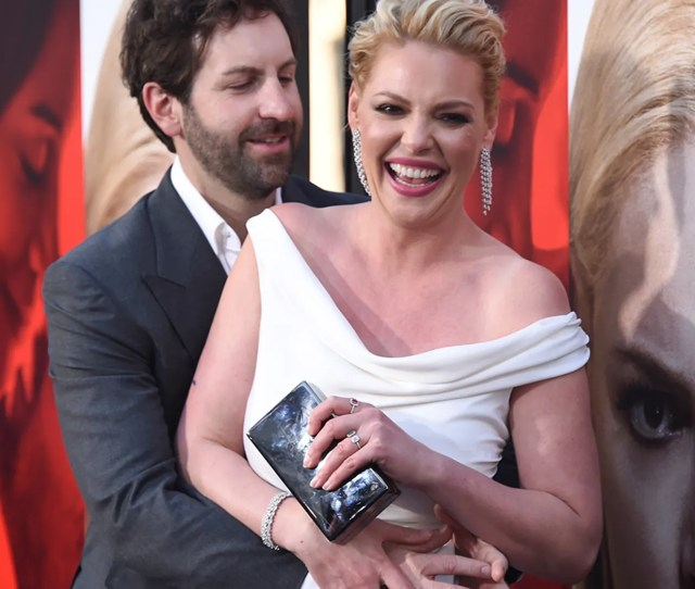 Cast Member Katherine Heigl R And Josh Kelley Attend The Premiere Of Unforgettable