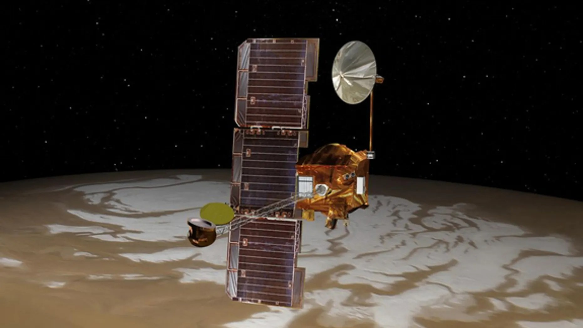 NASA Moves Old Spacecraft to Track New Mars Rover's ...