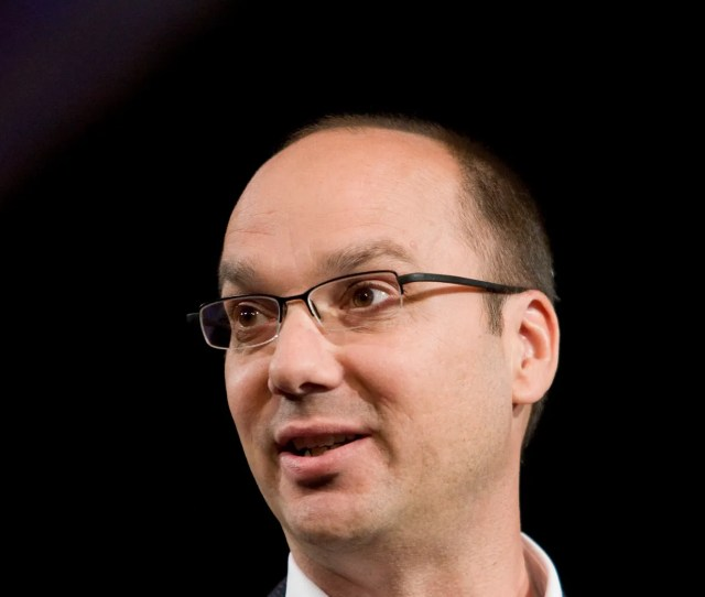File Photo Android Creator Andy Rubin At A Press Event In
