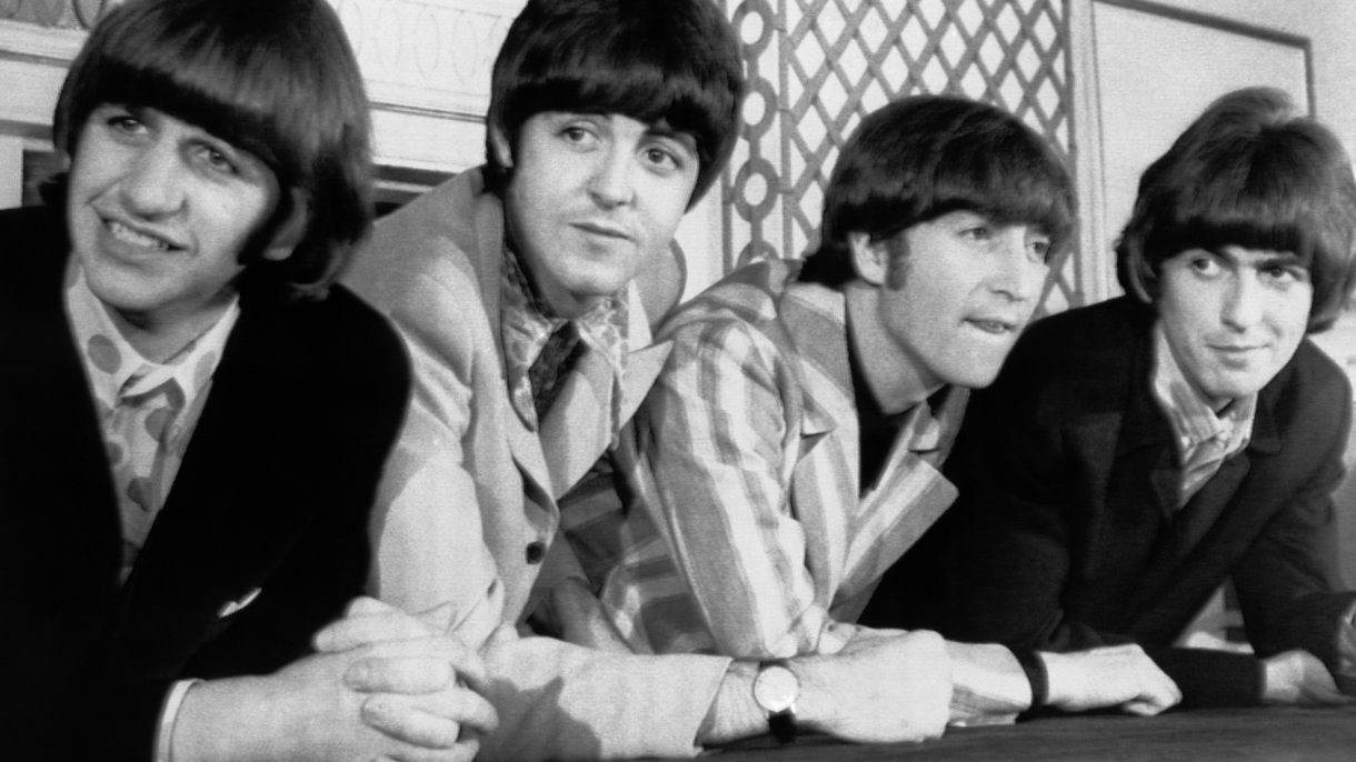 The Beatles remain atop theall-time rock band list.