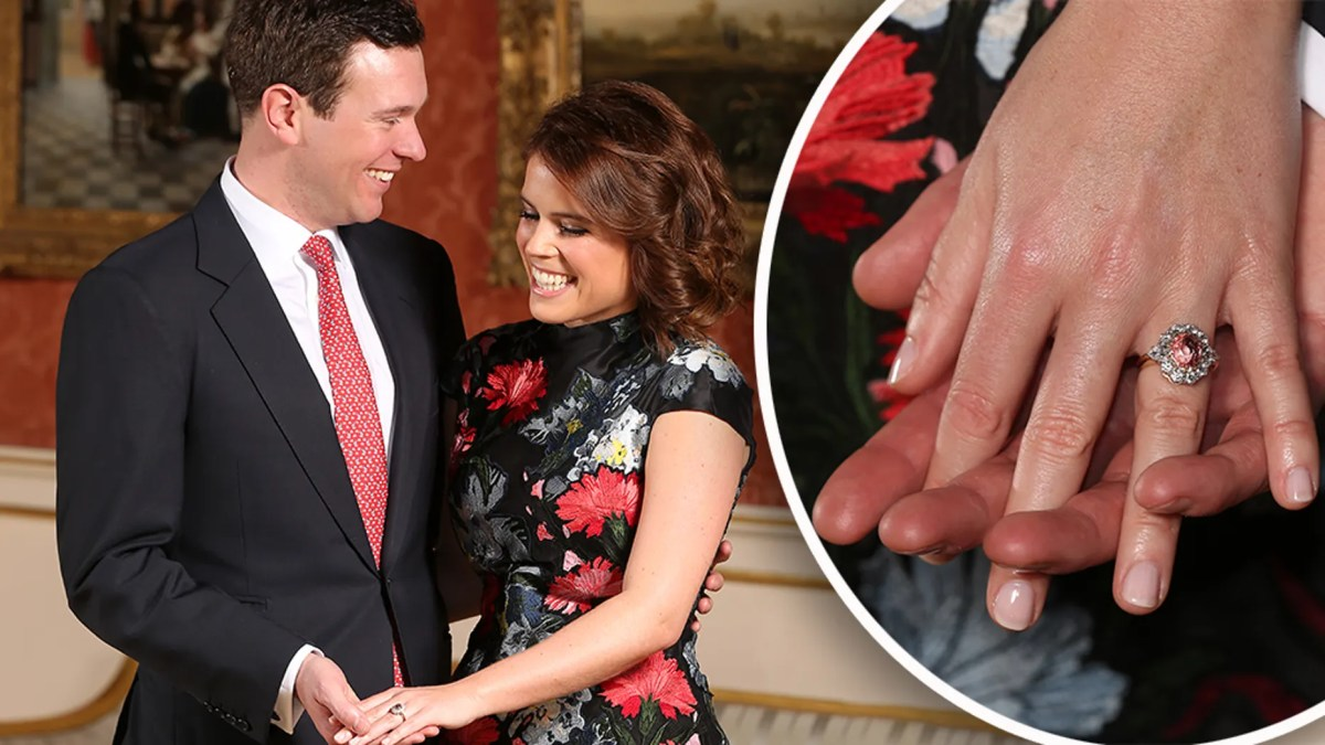 Princess Eugenie and Jack Brooksbank are due to marry on Oct. 12 at St. George's Chapel at Windsor Castle in Windsor, England.