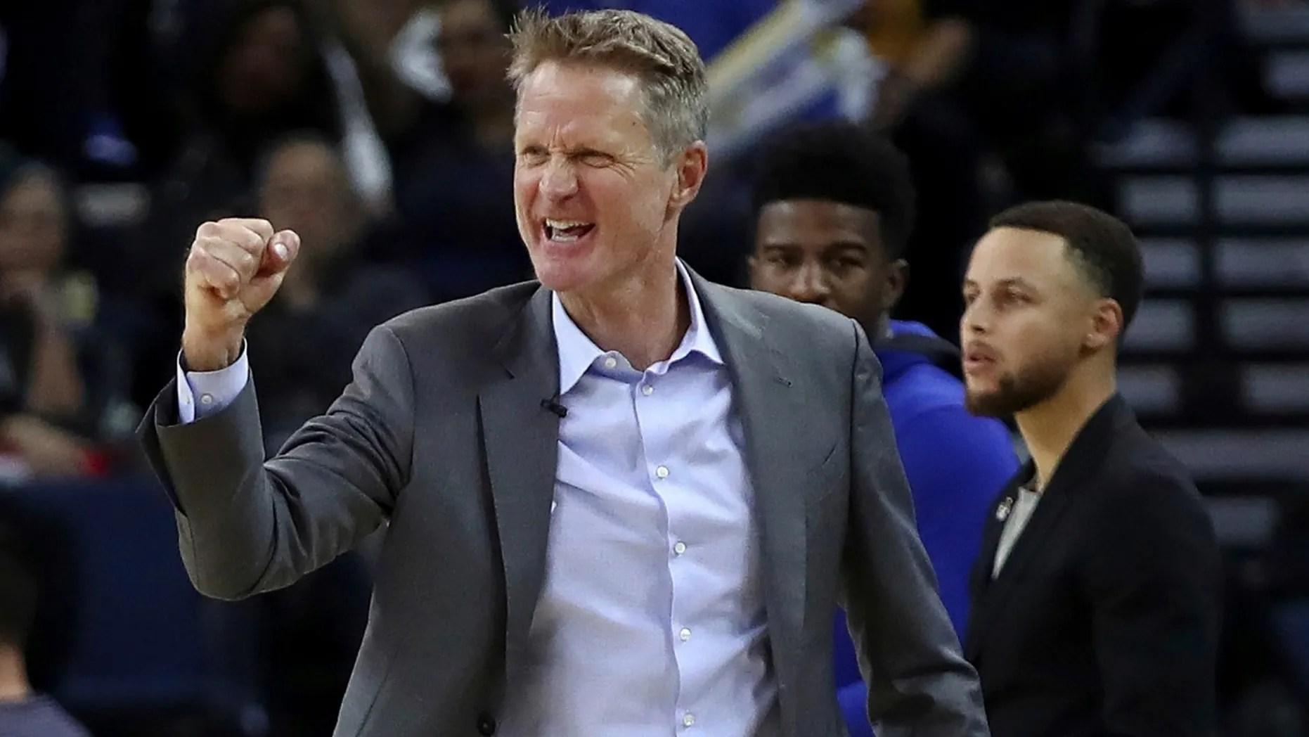 Golden State Warriors head coachSteve Kerr said he has mixed feelings on military displays before NBA games.