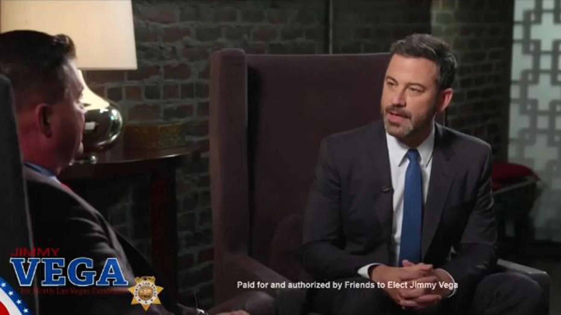 Kimmel backs Republican running for constable in North Las ...