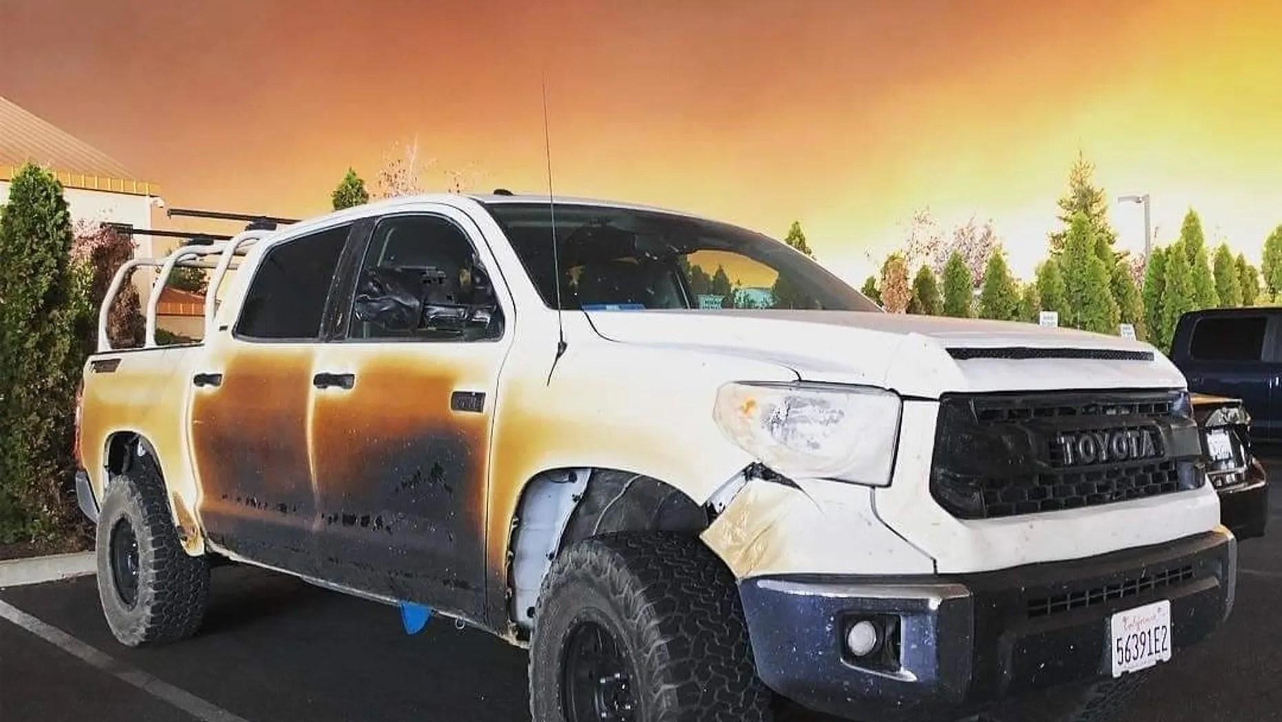Hero California nurse gets new truck after vehicle damaged