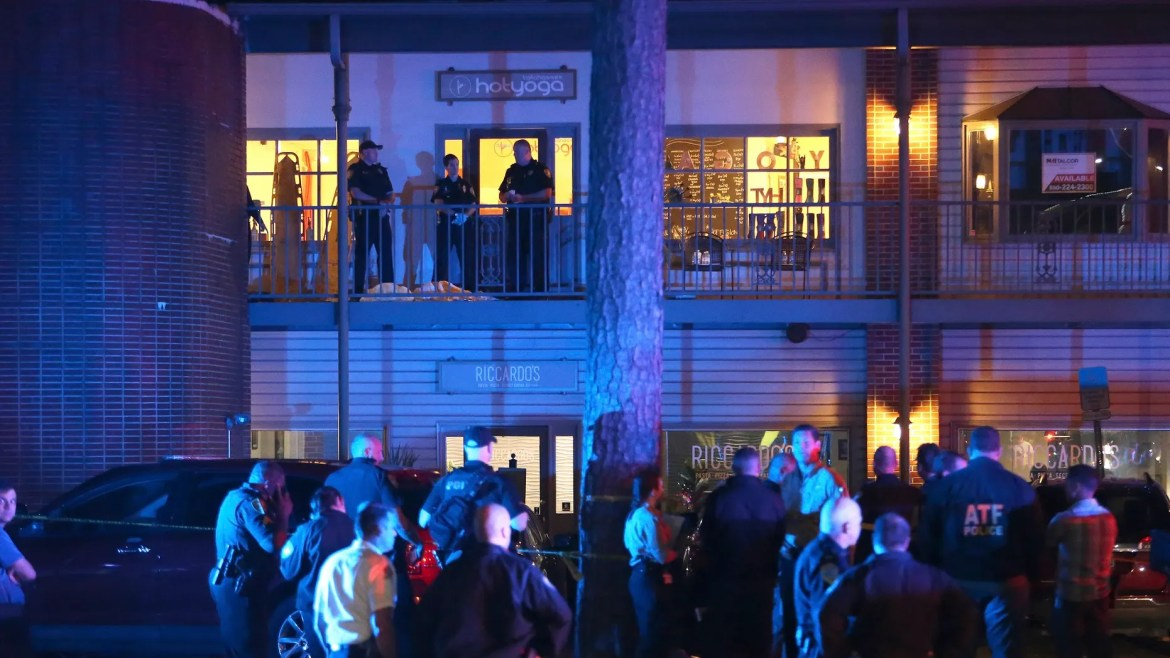 A gunman in Florida is dead after the fire opened on Friday night in a hot yoga studio in Tallahassee. At least two people were killed and several others injured, the police said.